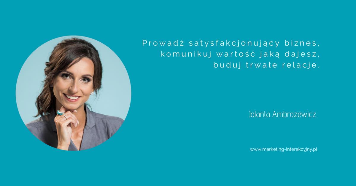 Jola Ambrożewicz marketing