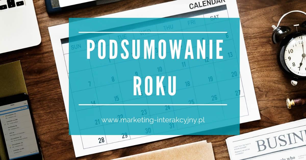 Podsumowanie Roku do pobrania Marketing Interakcyjny