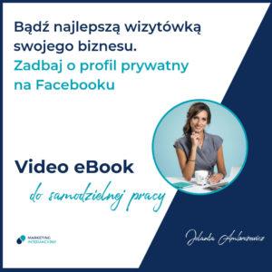 Profil prywatny na FB Jolanta Ambrożewicz ustawienia