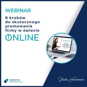 jak promować firmę online webinar o skutecznym działaniu