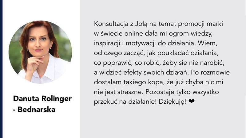 Danuta Rolinder-Bednarska PR