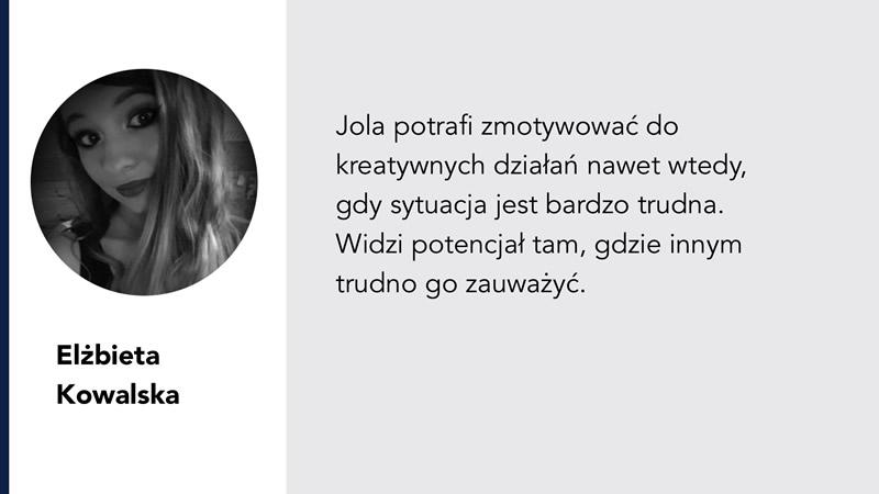 Jola Ambrożewicz rekomendacje