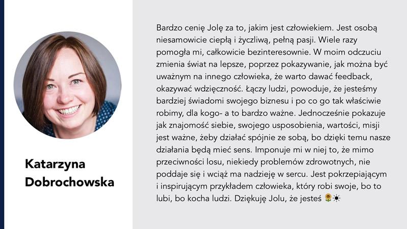 Jolanta Ambrożewicz Katarzyna Dobrochowska opinia