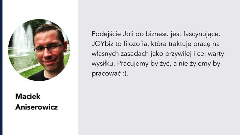 Maciej Aniserowicz i Jolanta Ambrożewicz