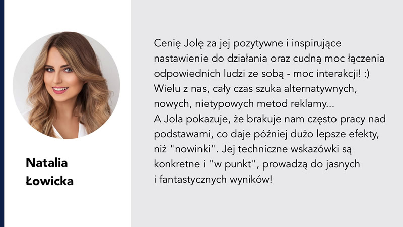 Natalia Łowicka Jolanta Ambrożewicz